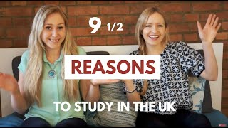 9.5 Reasons Why You Should Study in the UK