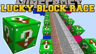 Minecraft: DEADLY SKY ISLAND LUCKY BLOCK RACE - Lucky Block Mod - Modded Mini-Game