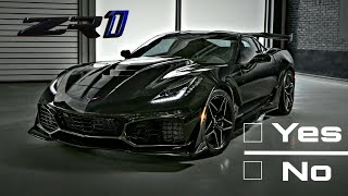Watch This Before Ordering a 2019 Corvette ZR1