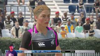 India Women Vs.New Zealand Women , 3rd T-20 , Live Cricket Score, Ashes cricket#PS4#Gameplay