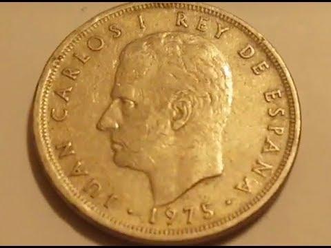 1975 Juan Carlos I Coin
