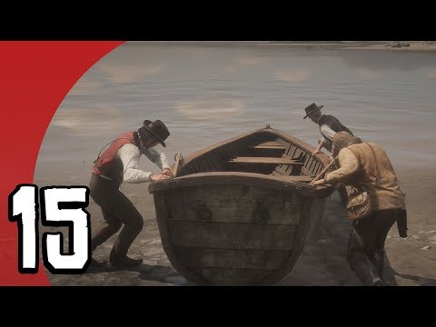 FISHING WITH THE LADS (Red Dead Redemption 2 #15)