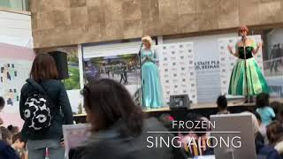 Frozen Sing Along (w/Elsa & Anna) + Playtime w/Red, Green and Purple Slime