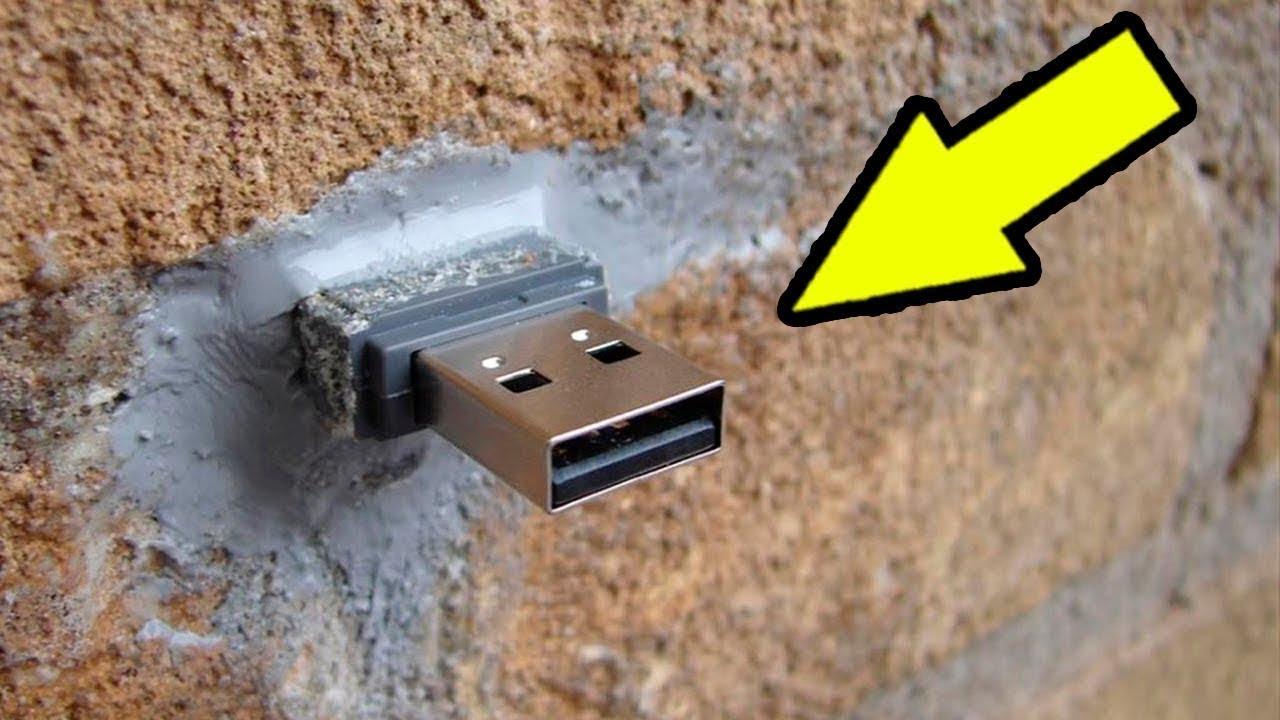 Duvarda USB Bulursanız, Ona Dokunmayın ve Hemen 155'i Arayın