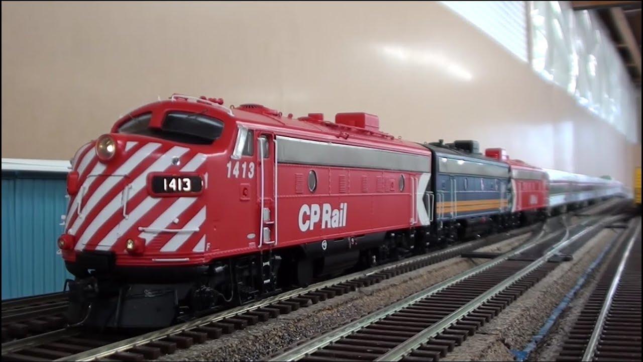 Ho Rapido The Canadian Via Rail Cp Mix Youtube