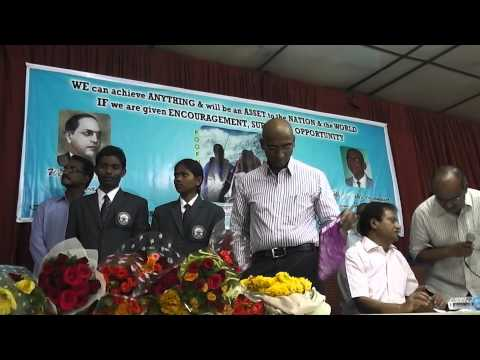 Center for Dalit Studies: Felicitating Ms.Poorna and Mr. Anand