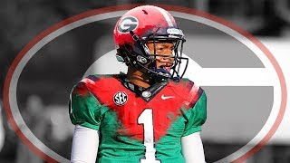 Justin Fields Sends a Message at First Georgia Practice