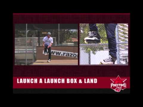 Rollerblading Tips: How to Launch a Launch Box & Land with Chris Haffey