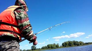 Рыбалка в троллинг | Поймал щуку | Камские поляны, Вандовка