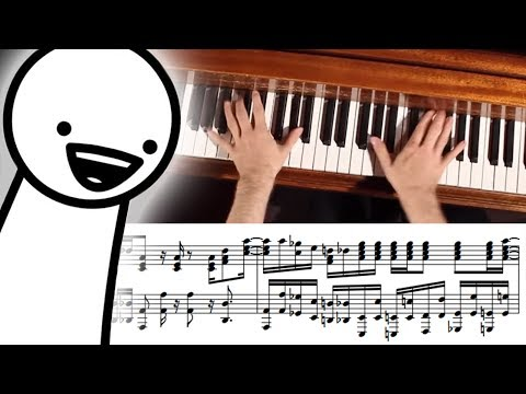 asdfmovie9 Song Advanced Piano Cover with Sheet Music