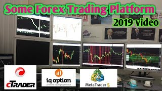 Some Forex Trading Platform, C-Trader, Iq-Option, Mt5, Mt4 By Asirfx