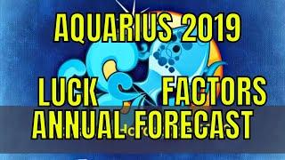 Aquarius Kumbh (Kumbha) Rashi Lucky Factors And 2019 Horoscope. Aqu...