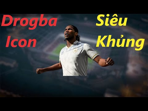 THÀNH HÒA   FIFA ONLINE 4 REVIEW   DIDER DROGBA ICON