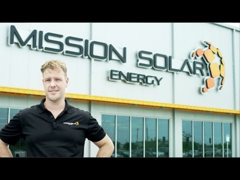 Mission Solar Energy Quality Solar Modules