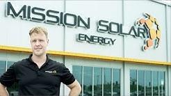 Mission Solar Energy Quality Solar Modules