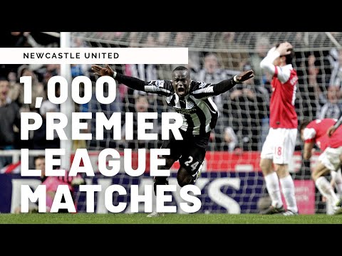 1,000 Premier League games for Newcastle United