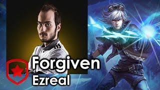 Forgiven picks Ezreal