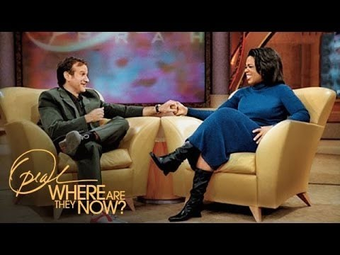 Oprah Pays Tribute to Robin Williams | Where Are They Now | Oprah Winfrey Network