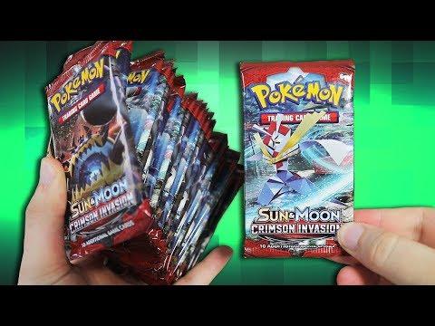 Opening a Pokemon Crimson Invasion Booster Box! - Part 2