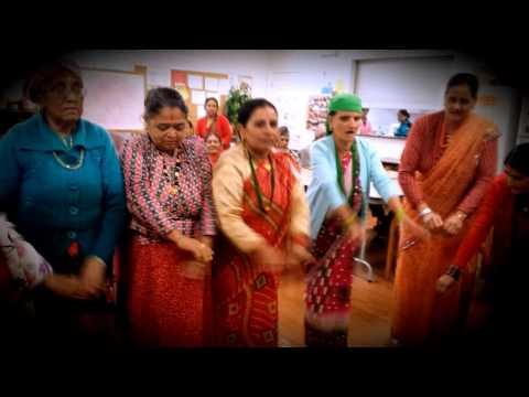 AJA PANI JAU JAU BHOLI PANI JAU (Sangini ) :-NEPALI DANCE IN ATLANTA GEORGIA