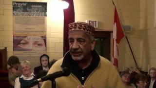 Dr. Momin Khalifa Speaking on International prayer day in a local church representing Islam - HD
