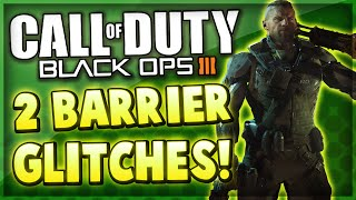 Black Ops 3 Multiplayer - 2 Barrier Glitches On Verge & Exodus! (COD BO3 Ledge Glitches)