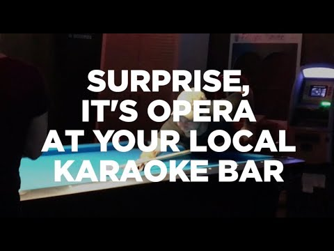 Surprise! It's Opera in Karaoke Bars--with World Renowned Opera Singer Michael Spyres