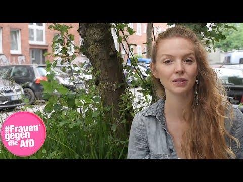 Pheline Roggan unterstützt Frauen* gegen die AfD