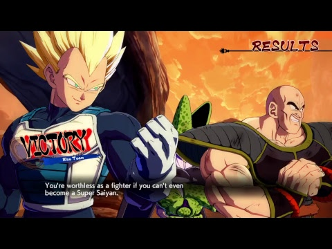FighterZ Cup Tryouts Pt. 5 |DRAGON BALL FIGHTERZ [PS4] 60FPS