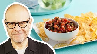 Alton Brown Makes Mix-and-Match Salsa | Food Network