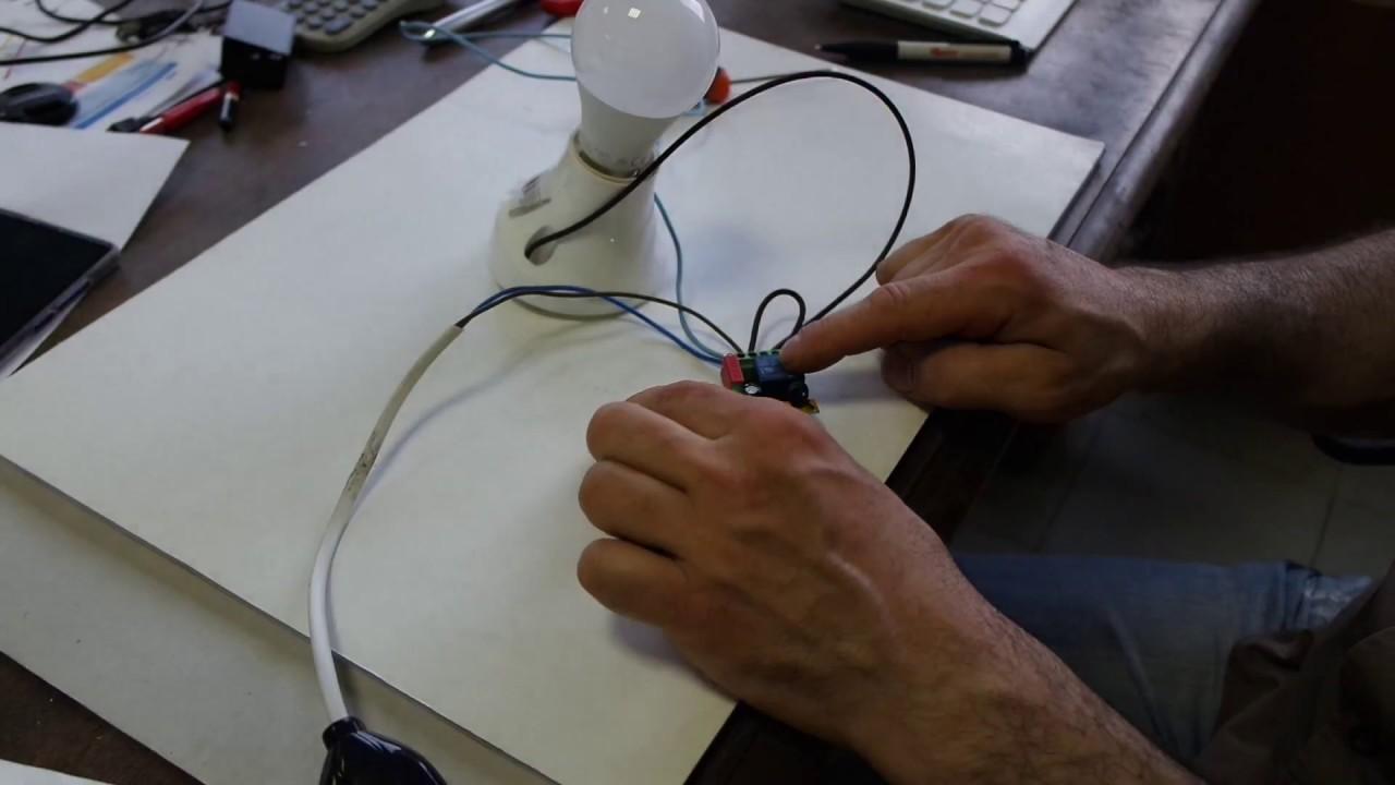 Schema Elettrico Emylo : Emylo comandare una luce con un semplice telecomando youtube