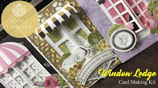 Anna Griffin ***NEW*** Window Ledge Cardmaking Kit & Dies!!  Available 8/16/17