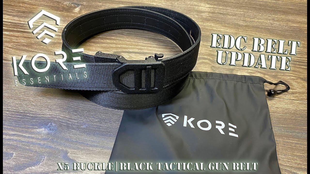 Kore Essentials Edc Belt Update X5 Buckle Black Tactical Gun Belt Honest Opinions Youtube Guns & zen reviews the kore essentials x5 tactical gun belt for range and everyday carry. youtube