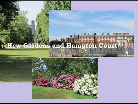 Vlog: a Trip to Kew Gardens and Hampton Court, London