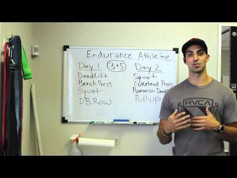 Endurance Athlete Strength Training Program