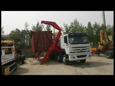 37ton side lifter loading test