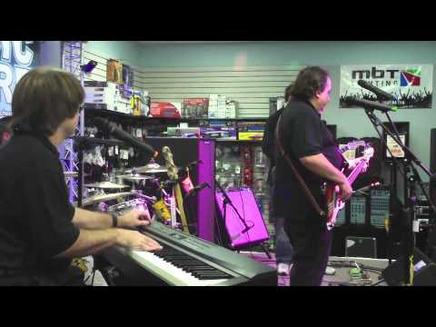 The Music Store All Star Band performing Satisfied