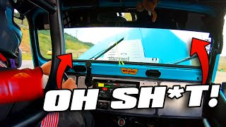 HOOD FLIES UP at 160MPH! | Race Week Day 1