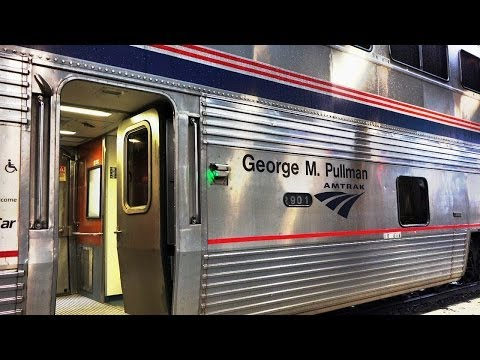 4k Amtrak Capitol Limited Train #29  April 29, 2014  Part 1 Coast to Coast