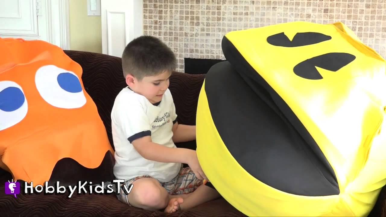 Giant PAC-MAN Egg by HobbyKidsTV