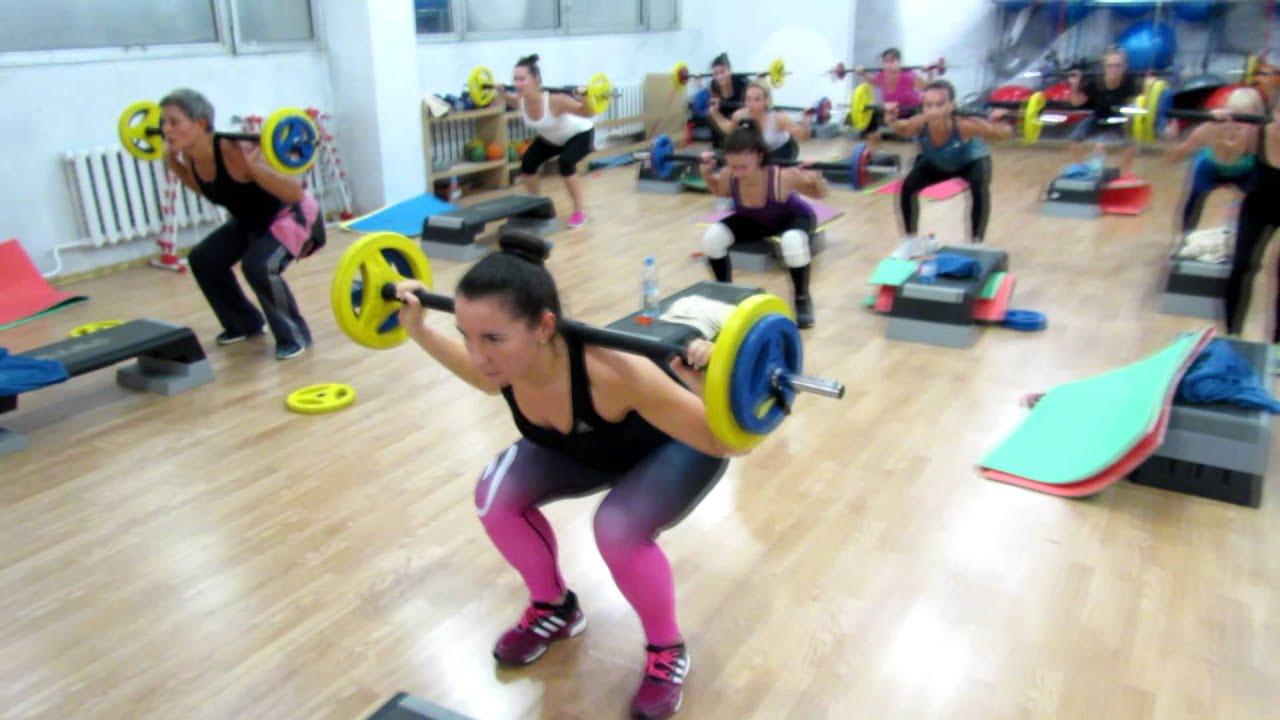 Упражнения для похудения с железом
