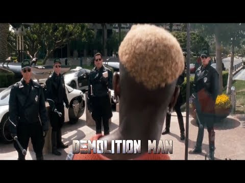 Demolition Man - Phoenix vs Cops [HD]