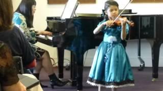 Video Gavotte in D major by Bach  (Suzuki Book 3) download MP3, 3GP, MP4, WEBM, AVI, FLV Juni 2018