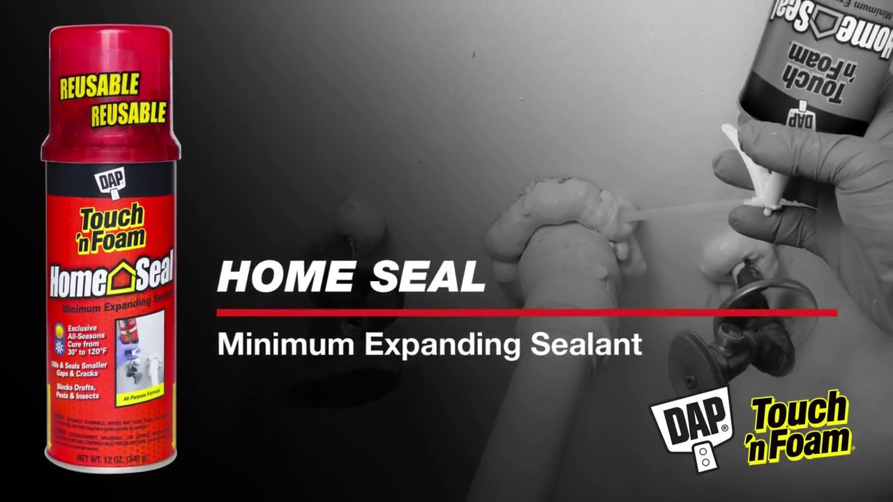 Home Seal Minimum Expanding Foam Sealant | Touch 'n Foam