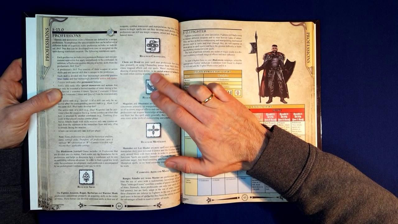 Bladestorm Rulesbook 2nd Edition - Metal Express