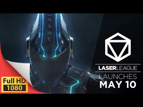Laser League arcade-style multiplayer action sport