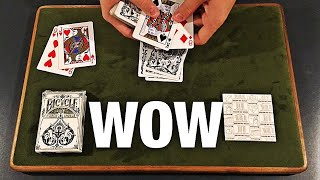 This Card Trick is Visually IMPOSSIBLE!