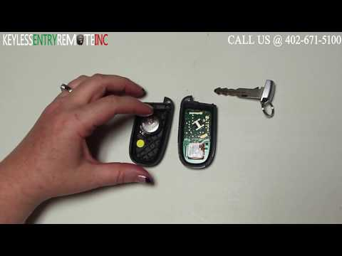 How To Replace A Dodge Journey Key Fob Battery 2011 - 2017