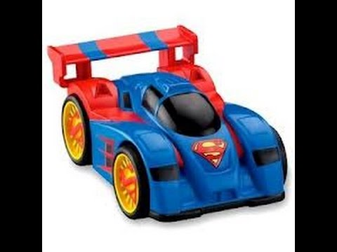 Superman Coches De Juguetes Dibujos Animados Para Ninos Youtube