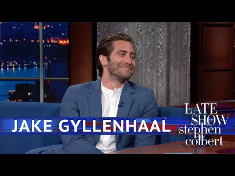 Is Jake Gyllenhaal Dropping Tom Holland For Stephen Colbert?